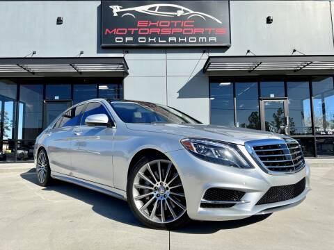 2016 Mercedes-Benz S-Class for sale at Exotic Motorsports of Oklahoma in Edmond OK
