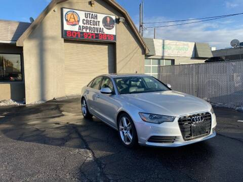2015 Audi A6 for sale at Utah Credit Approval Auto Sales in Murray UT
