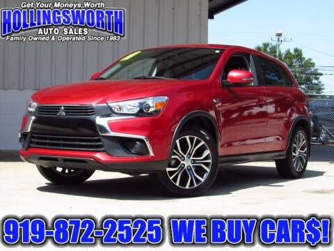 2017 Mitsubishi Outlander Sport for sale at Hollingsworth Auto Sales in Raleigh NC