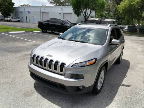 2015 Jeep Cherokee for sale at Best Price Car Dealer in Hallandale Beach FL