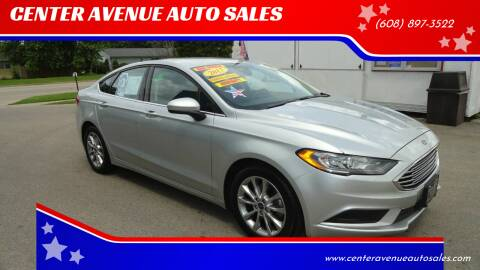 2017 Ford Fusion for sale at CENTER AVENUE AUTO SALES in Brodhead WI