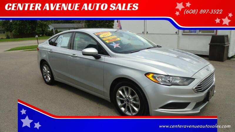 2017 Ford Fusion for sale at CENTER AVENUE AUTO SALES in Brodhead WI
