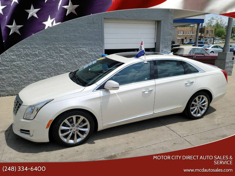 2013 Cadillac XTS for sale at Motor City Direct Auto Sales & Service in Pontiac MI