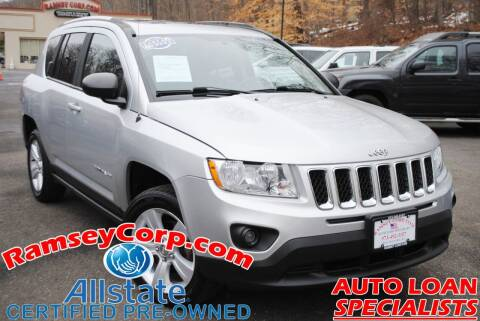 2013 Jeep Compass for sale at Ramsey Corp. in West Milford NJ