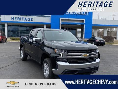 2021 Chevrolet Silverado 1500 for sale at HERITAGE CHEVROLET INC in Creek MI