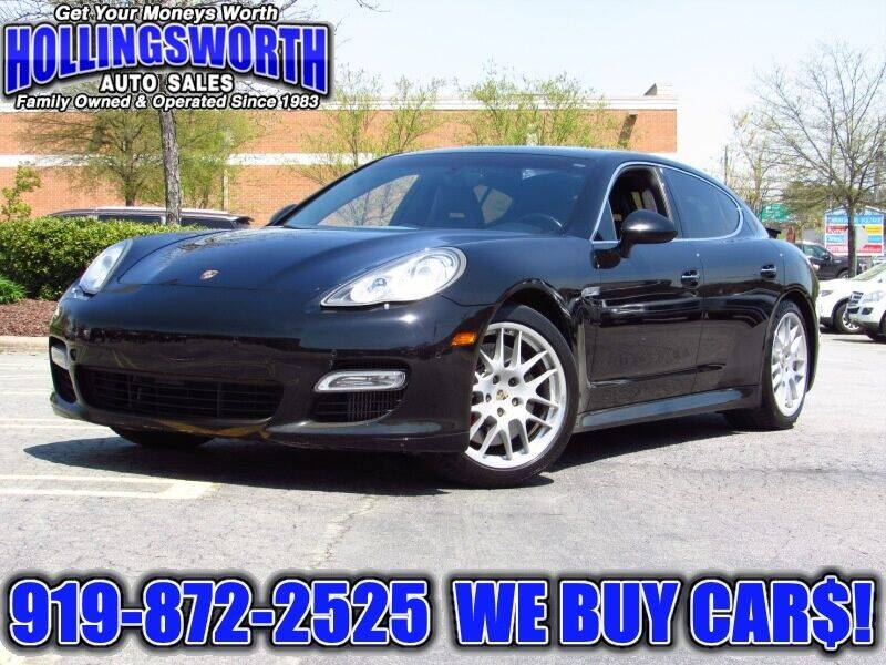 2010 Porsche Panamera for sale at Hollingsworth Auto Sales in Raleigh NC