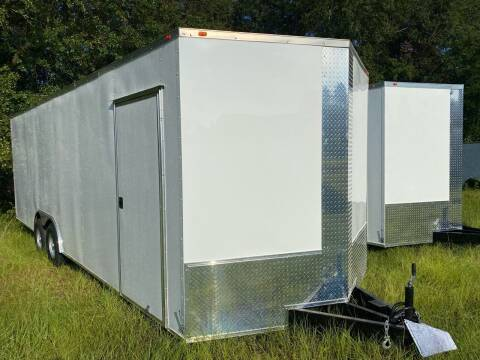 2021 8.5x24 Tamdem Axle  Enclosed Cargo Trailer  for sale at Direct Connect Cargo in Tifton GA