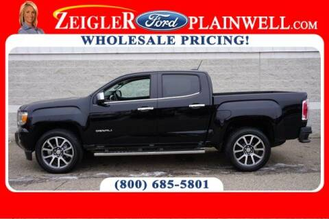 2020 GMC Canyon for sale at Zeigler Ford of Plainwell- Jeff Bishop in Plainwell MI