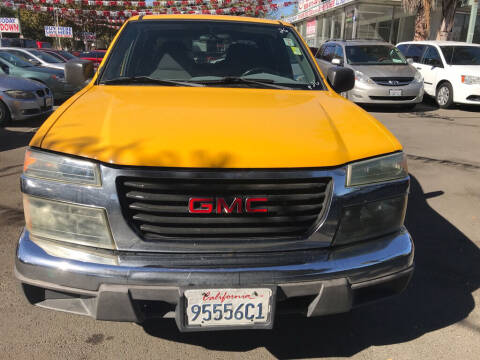 2005 GMC Canyon for sale at EXPRESS CREDIT MOTORS in San Jose CA