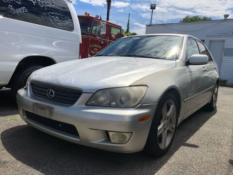 2001 Lexus IS 300 for sale at Cypress Motors of Ridgewood in Ridgewood NY