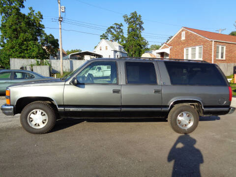 1999 Chevrolet Suburban for sale at Kneezle Auto Sales in Saint Louis MO