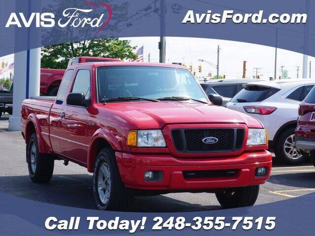 2005 Ford Ranger for sale at Work With Me Dave in Southfield MI
