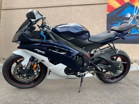 2012 Yamaha YZF-R6 for sale at Chandler Powersports in Chandler AZ