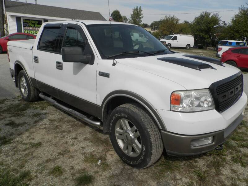 2004 Ford F-150 for sale at Mike's Used Cars LLC in Indianapolis IN