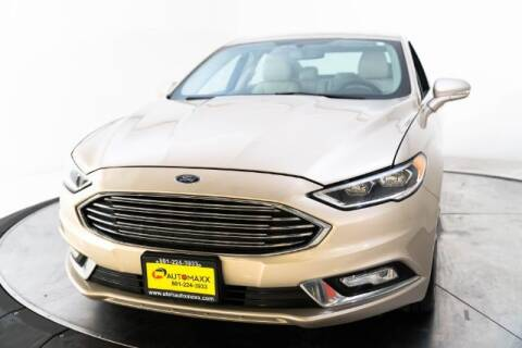 2017 Ford Fusion for sale at AUTOMAXX MAIN in Orem UT