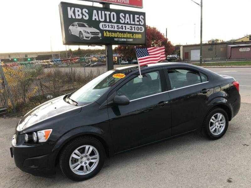 2015 Chevrolet Sonic for sale at KBS Auto Sales in Cincinnati OH