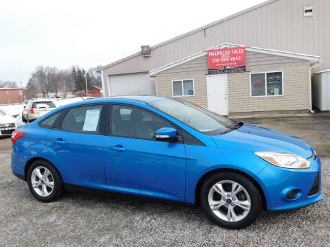 2014 Ford Focus for sale at Macrocar Sales Inc in Akron OH