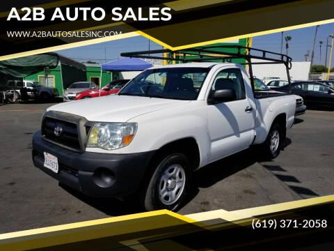 2007 Toyota Tacoma for sale at A2B AUTO SALES in Chula Vista CA