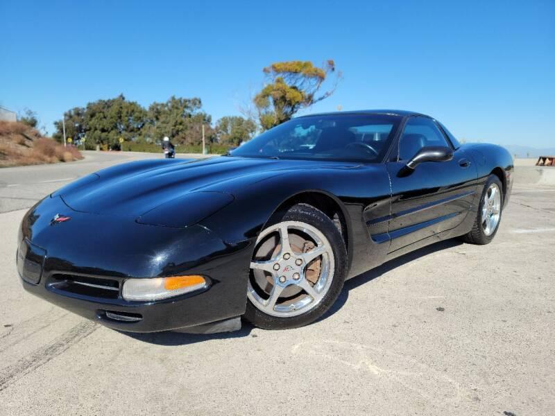 2001 Chevrolet Corvette for sale at L.A. Vice Motors in San Pedro CA