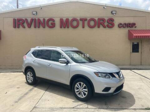 2016 Nissan Rogue for sale at Irving Motors Corp in San Antonio TX