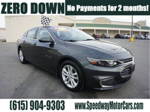 2016 Chevrolet Malibu for sale at Speedway Motors in Murfreesboro TN