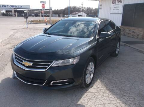 2018 Chevrolet Impala for sale at AUTO TOPIC in Gainesville TX