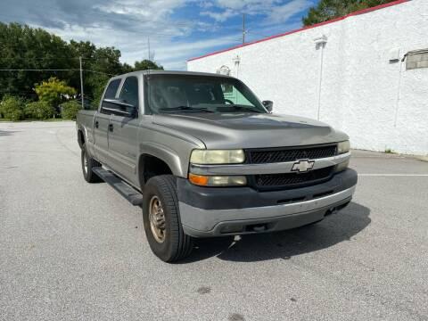 2002 Chevrolet Silverado 2500HD for sale at LUXURY AUTO MALL in Tampa FL