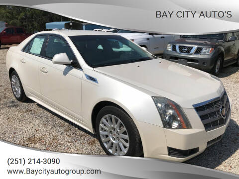 2010 Cadillac CTS for sale at Bay City Auto's in Mobile AL