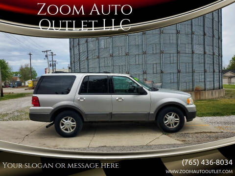 2004 Ford Expedition for sale at Zoom Auto Outlet LLC in Thorntown IN