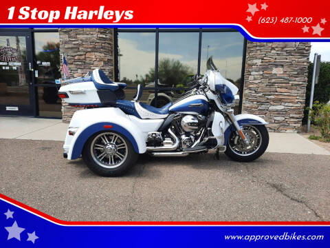 2015 Harley-Davidson TriGlide UltraClassic FLHTCUTG for sale at 1 Stop Harleys in Peoria AZ