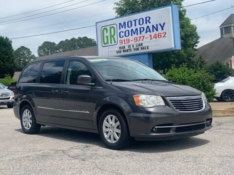 2015 Chrysler Town and Country for sale at GR Motor Company in Garner NC