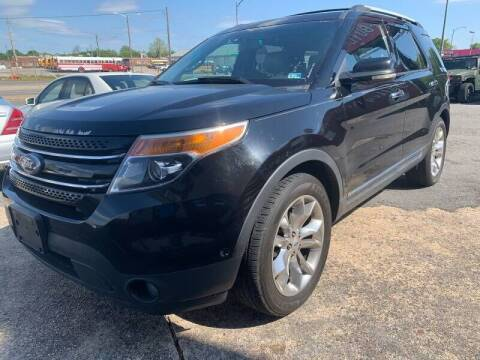 2012 Ford Explorer for sale at Cj king of car loans/JJ's Best Auto Sales in Troy MI