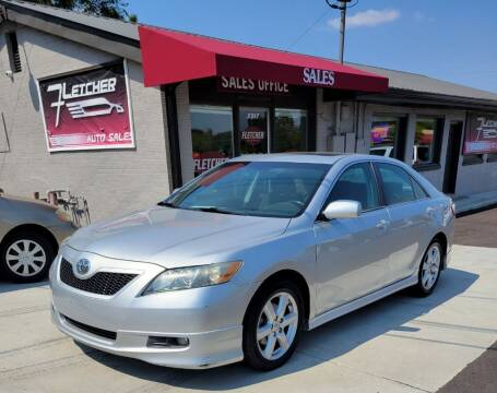 2007 Toyota Camry for sale at Fletcher Auto Sales in Augusta GA