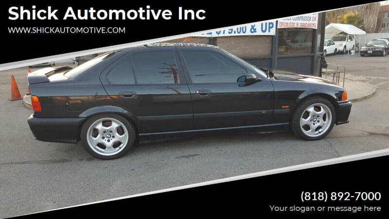 1997 BMW M3 for sale at Shick Automotive Inc in North Hills CA