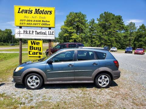 2007 Pontiac Vibe for sale at Lewis Motors LLC in Deridder LA