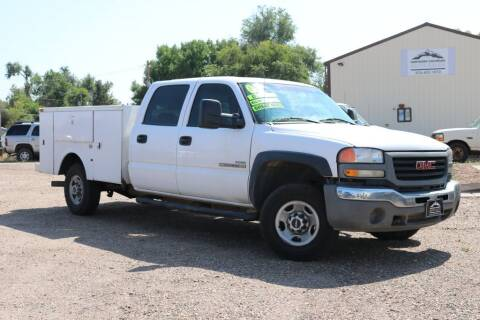 2007 GMC Sierra 2500HD Classic for sale at Northern Colorado auto sales Inc in Fort Collins CO