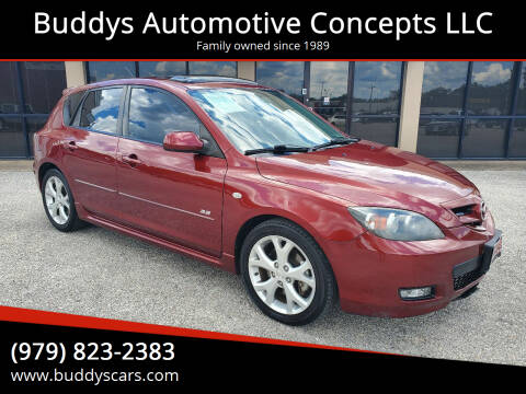 2008 Mazda MAZDA3 for sale at Buddys Automotive Concepts LLC in Bryan TX