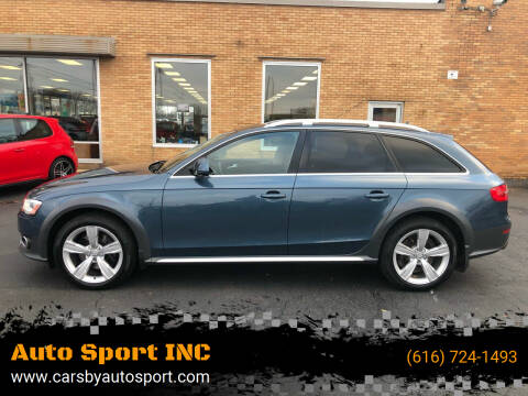 2016 Audi Allroad for sale at Auto Sport INC in Grand Rapids MI