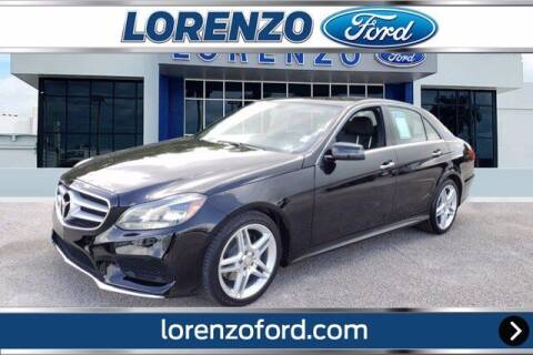 2014 Mercedes-Benz E-Class for sale at Lorenzo Ford in Homestead FL