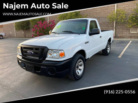 2009 Ford Ranger for sale at Najem Auto Sale in Sacramento CA