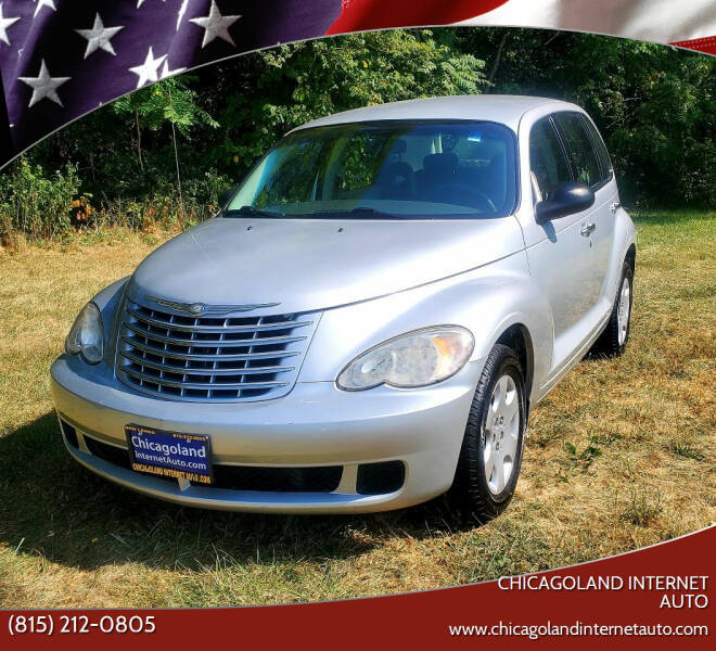 2007 Chrysler PT Cruiser for sale at Chicagoland Internet Auto - 410 N Vine St New Lenox IL, 60451 in New Lenox IL