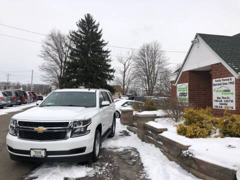 2015 Chevrolet Tahoe for sale at Direct Sales & Leasing in Youngstown OH