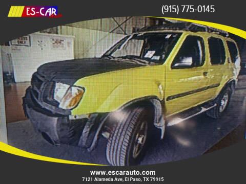 2002 Nissan Xterra for sale at Escar Auto in El Paso TX