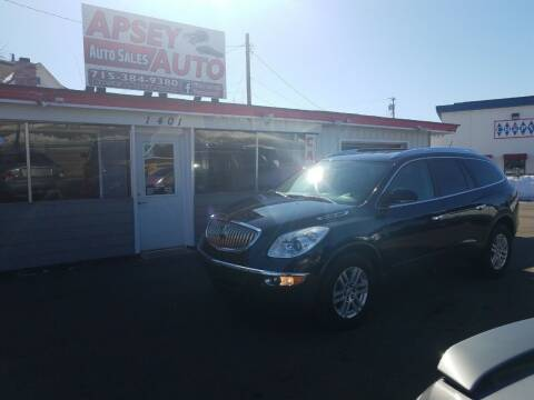 2008 Buick Enclave for sale at Apsey Auto in Marshfield WI