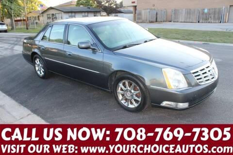 2011 Cadillac DTS for sale at Your Choice Autos in Posen IL