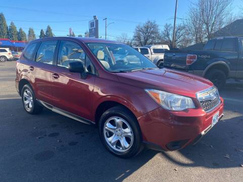 2014 Subaru Forester for sale at Blue Line Auto Group in Portland OR