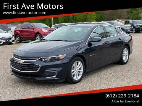 2017 Chevrolet Malibu for sale at First Ave Motors in Shakopee MN