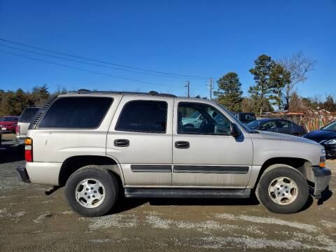 2006 Chevrolet Tahoe for sale at M & M Auto Brokers in Chantilly VA