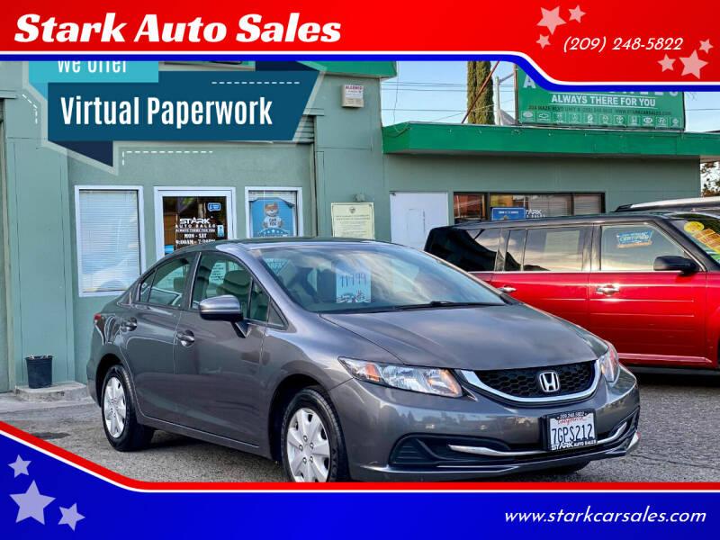 2014 Honda Civic for sale at Stark Auto Sales in Modesto CA