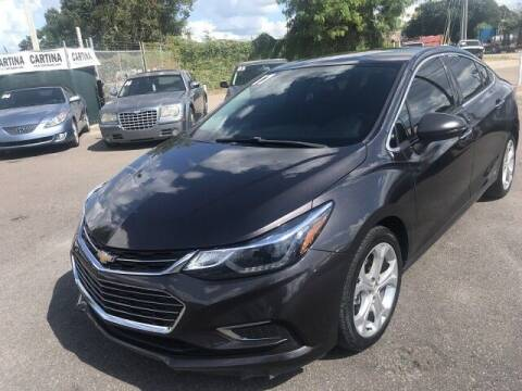 2017 Chevrolet Cruze for sale at Cartina in Tampa FL